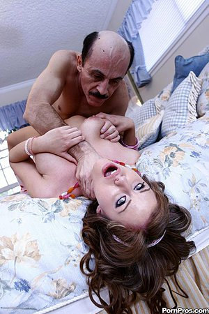 Missy lou porn Sex Appeal Teen Girl Missy Lou In Pink Mini Dress Gets Owned By Horny Old Man Definebabe Com